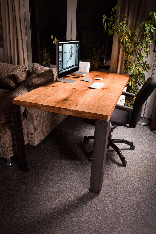 Rustikaler Schreibtisch massivholz schreibtisch in bad saulgau schreinerei stützle